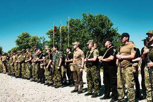 Донетчина: Спецназовцы учили полицейских