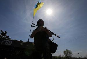 На передовой «режим тишины» разрывает крупный калибр противника