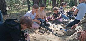 Полтавщина: «Барс» учит школьников показывать «когти» врагу