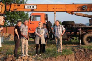 Голова ОДА проінспектувала об'єкти «Великого будівництва»