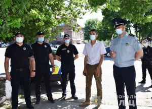 Правопорядок на Кировоградщине будут обеспечивать офицеры громад