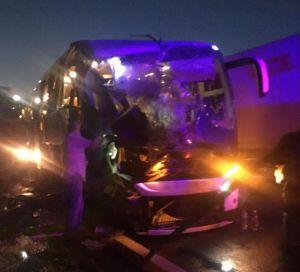 Одещина: Автобус не розминувся із зерновозом