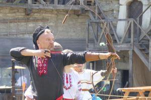 Хмельнитчина: «Каменная стрела» пролетела в Старом замке
