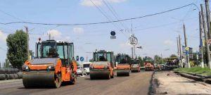 Проспект Героев Украины в Николаеве ремонтируют круглосуточно