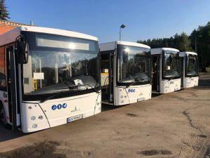 У Костополі на всі маршрути вийдуть нові муніципальні автобуси