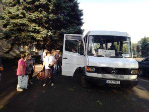 Донетчина: «Социальный автобус» снова на маршруте