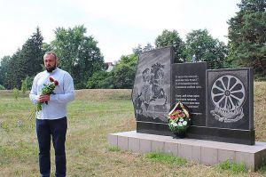 Вшанували пам'ять ромів, знищених нацистами