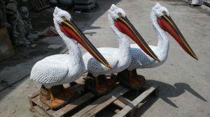 Одесская область: Искусственные пеликаны станут приманкой для живых