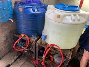 Ривненщина: Изготовляли суррогат в гаражах