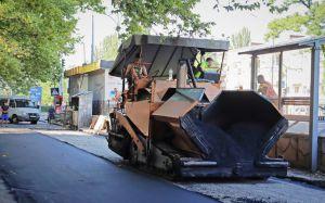 Ведется ремонт внутриквартальных проездов