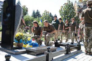 В Марьинке отметили седьмую годовщину освобождения города