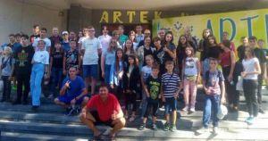 Школьники со Львовщины поехали в «Артек»