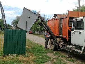 Полтавщина: В глубинке вывозят мусор «по-городскому»