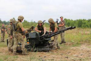 Лучшие зенитчики Сухопутных войск ВСУ — в ОК «Південь»