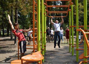 «Активные парки» захватывают города Донецкой области