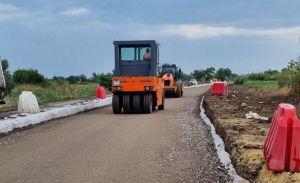 Возобновили ремонт автотрассы Днепр — Николаев