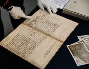 Оригинал Конституции Пилипа Орлика впервые за три века привезли в Киев