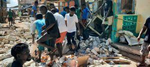 Жертвами землетрясения стали почти 1300 гаитян