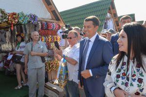 Дмитро Разумков: «Завдяки проведенню таких заходів, як Сорочинський ярмарок, вдалося зберегти українські традиції»
