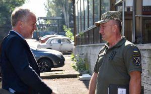 Заместитель главы СММ ОБСЕ в Украине высоко оценил уровень сотрудничества с командованием Объединенных сил