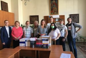 Львовщина передала книги диаспоре в Литве