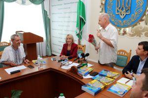 В Черниговском облсовете представили очередное издание «Просвіти»