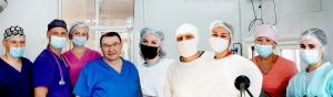 Неуклонный Красносельский Директор Института медицинской радиологии и онкологии им. С. П. Григорьева НАМН Украины в действии