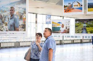 «Обличчя нових громад» з'явилися на київському вокзалі