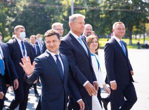 Владимир Зеленский принял участие в праздновании 30-й годовщины независимости Молдовы