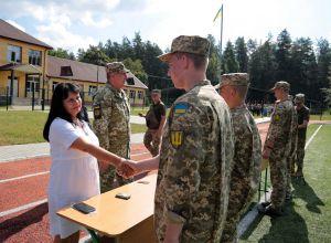 Луганщина: Ліцеїстам вручили перші погони
