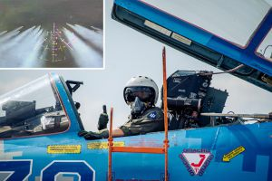 Полтавщина: Пилоты поражали наземные цели