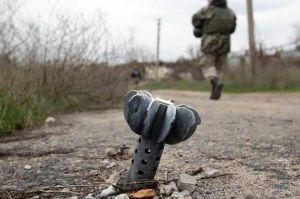 У Новозвановки противник применял минометы