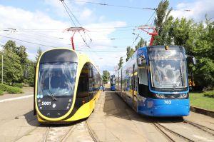 Київ: На маршрути вийдуть модернові трамваї