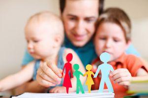 Херсон: Подарують малечі родину