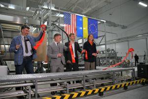 В Ривненской области инвесторы запустили линию по производству поролона