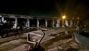 В больнице, где лечили зараженных COVID-19, пожар отнял жизни десяти пациентов