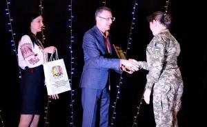 Луганщина: Зенитчики принимали поздравления