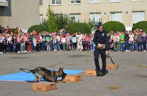 В Ужгороде «День с полицейским и спасателем» продлится две недели