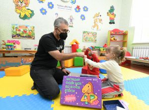 Школу в прифронтовом поселке поддерживает  Детский фонд ООН