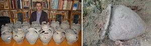 В Черновцах нашли древние кувшины