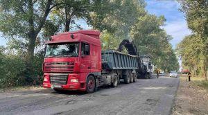 Николаевщина: Ремонтируют дороги