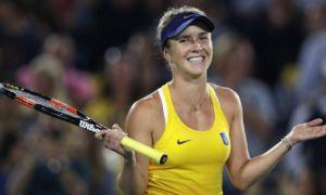 Теннис: Свитолина сохранила четвертую позицию