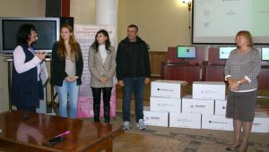 Чернігівщина: Комп'ютери для сільських бібліотек