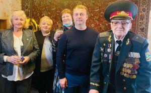 Донеччина: Ветеран-довгожитель приймає вітання