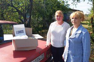 Житомирщина: Поступила помощь от Lumos