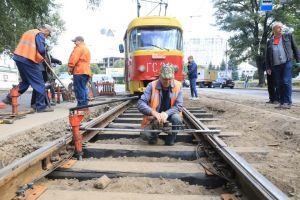 Запоріжжя: Трамваї поїдуть новими коліями