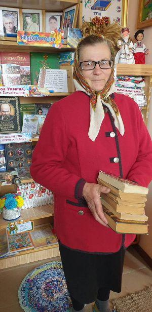 Жителька Довгого Ганна Кравчук за рік прочитала 131 книжку