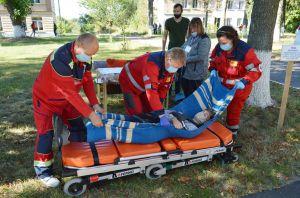 У Немішаївському коледжі відбулися тренування з цивільного захисту
