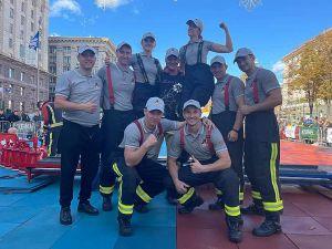 Команда рятувальників «Рівне 112» виборола «срібло»