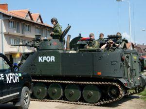 Сили КФОР взяли під контроль ситуацію на кордоні між Сербією і Косово